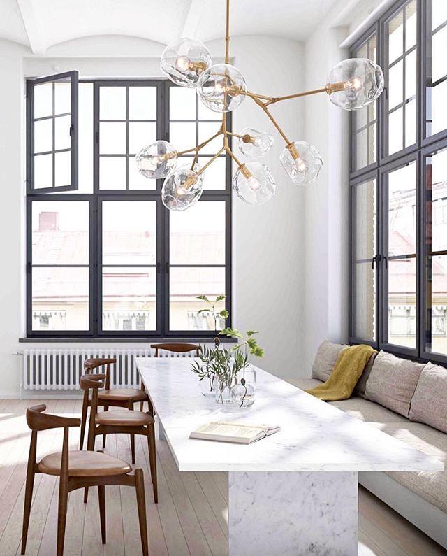 This dining space is everything. #regram @consortdesign via @oscarproperties