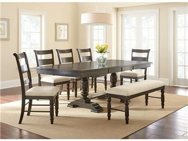 Dining Group Constructed Of Mango & Rubberwood Solids With Acacia Beauteous Charcoal Dining Room Design Inspiration