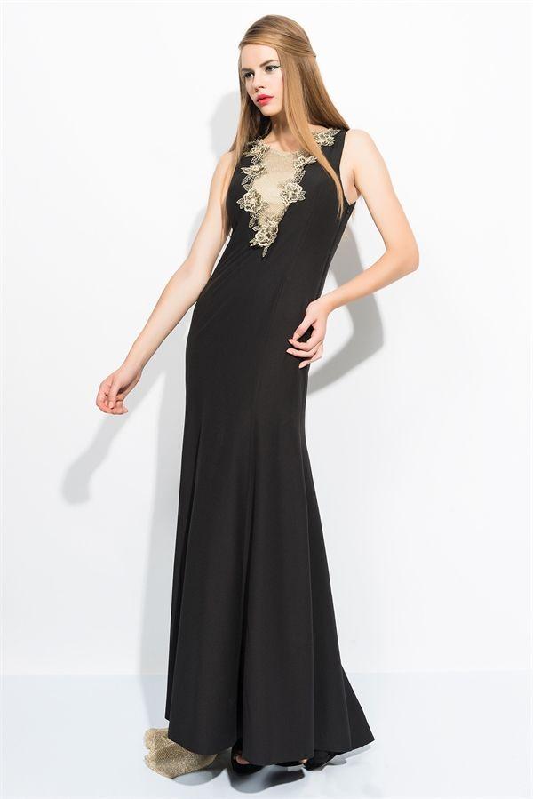 48ac9da767ba7 Pin by Allmisse.com on allmisse.com moda elbise | Siyah elbise, Moda ...