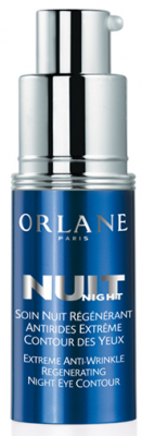 Buy Orlane Paris Extreme Anti-Wrinkle Regenerating Night Eye Contour online! A new skincare product for the delicate eye area that acts specifically at night for extreme skin regeneration. An unprecedented Orlane measurement system makes it possible to target the best active ingredients and establish the best dosages and blends to fight wrinkles. Your skin regenerates, night after night. Wrinkles are softened, the eyes look younger.