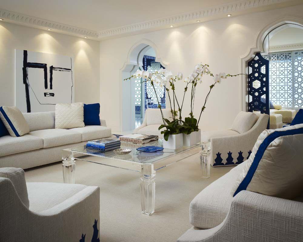 Geoffrey bradfield luxury interior design moroccan moderne