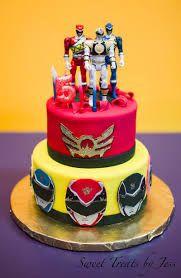 Super Image Result For Red Power Ranger Cakes Power Rangers Birthday Personalised Birthday Cards Veneteletsinfo