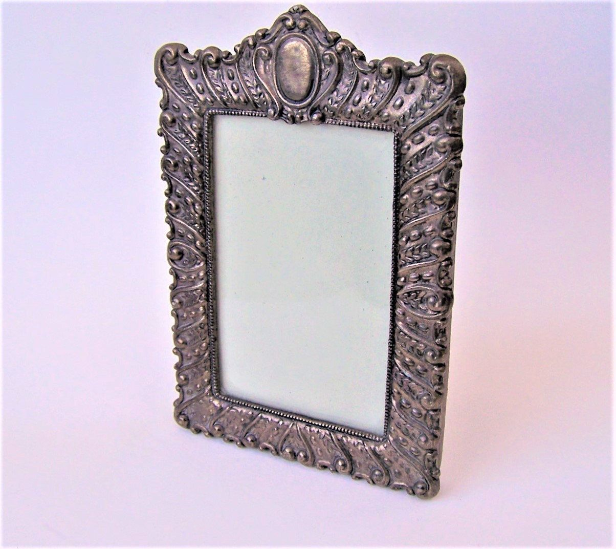 Antique Silver Victorian Era Ornate 4 X 6 Picture Frame by ...