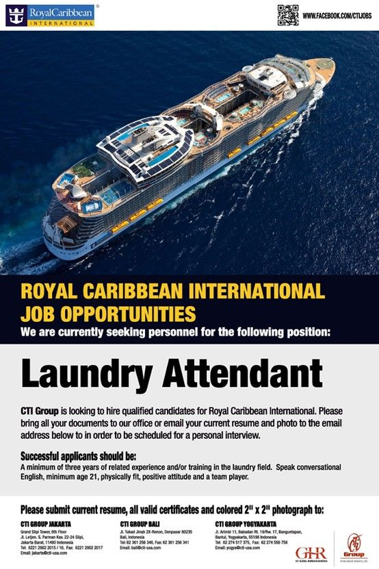 Royal Caribbean Cruise Lines Job Opportunities | cruise