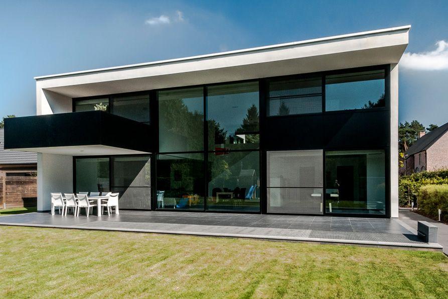 Architectenburo bart coenen te antwerpen architect van moderne woningen huis buitenkant - Huis buitenkant ...