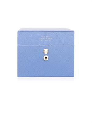 Panama mini leather jewellery box - Smythson