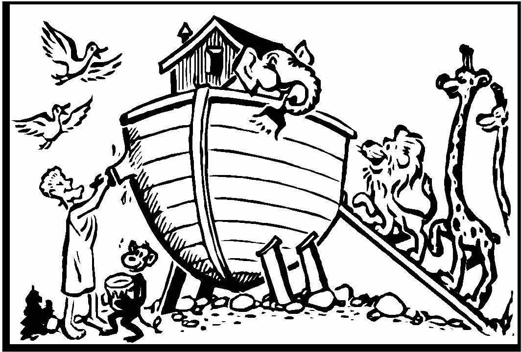 Coloring Pages Noah\'s ark | Sunday School | Pinterest