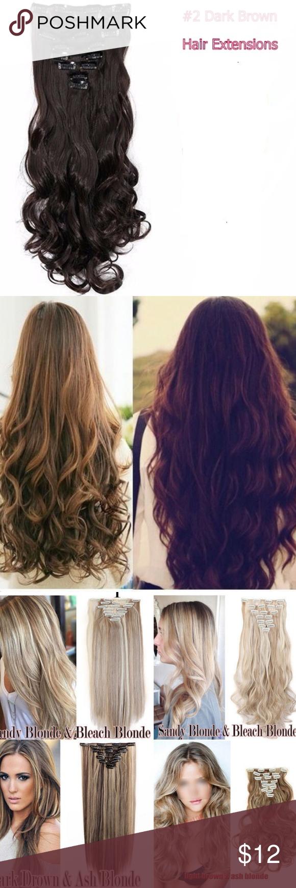 Hair extensions pcs