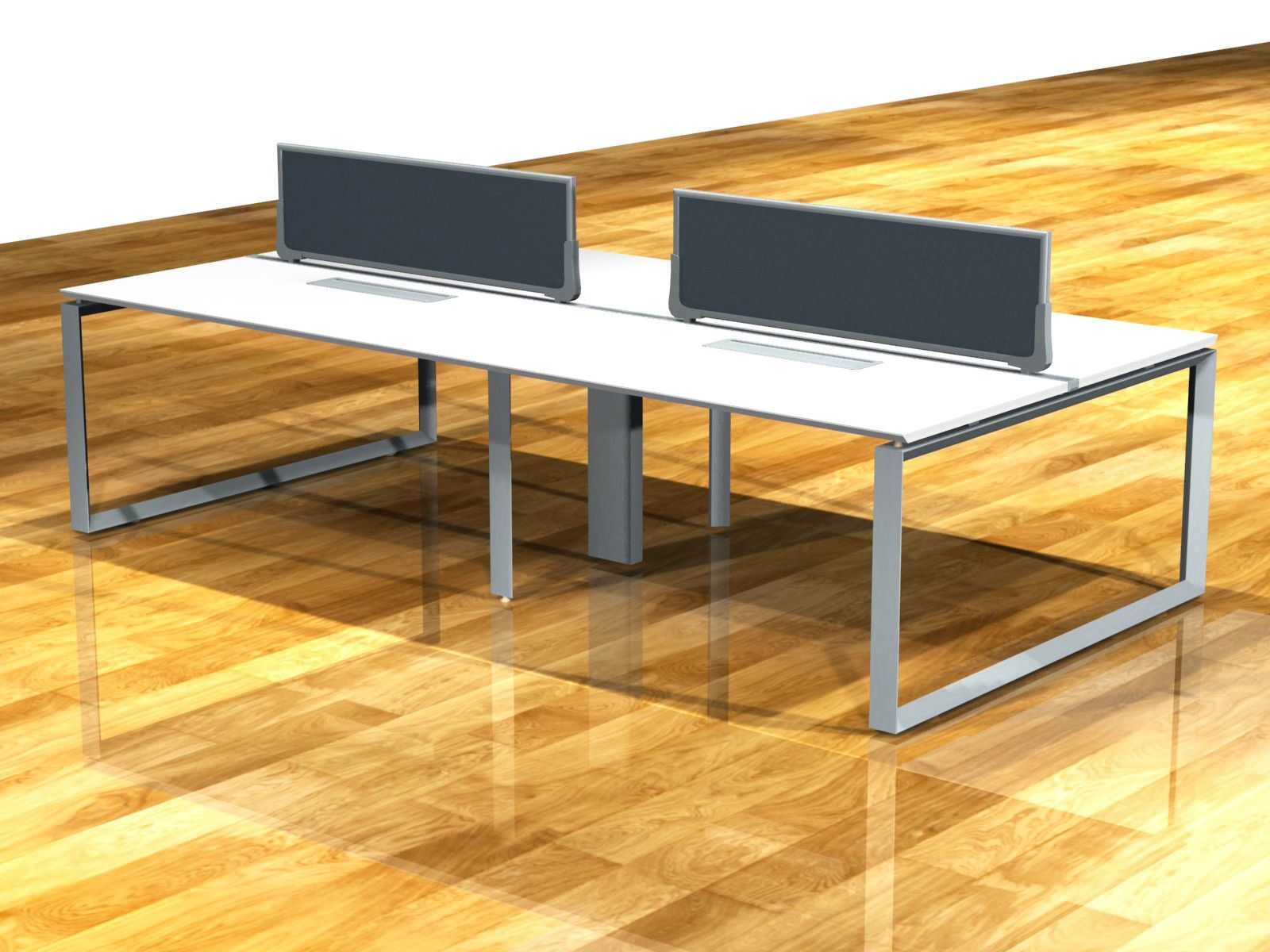 A versatile office system designed to enhance open spaces through