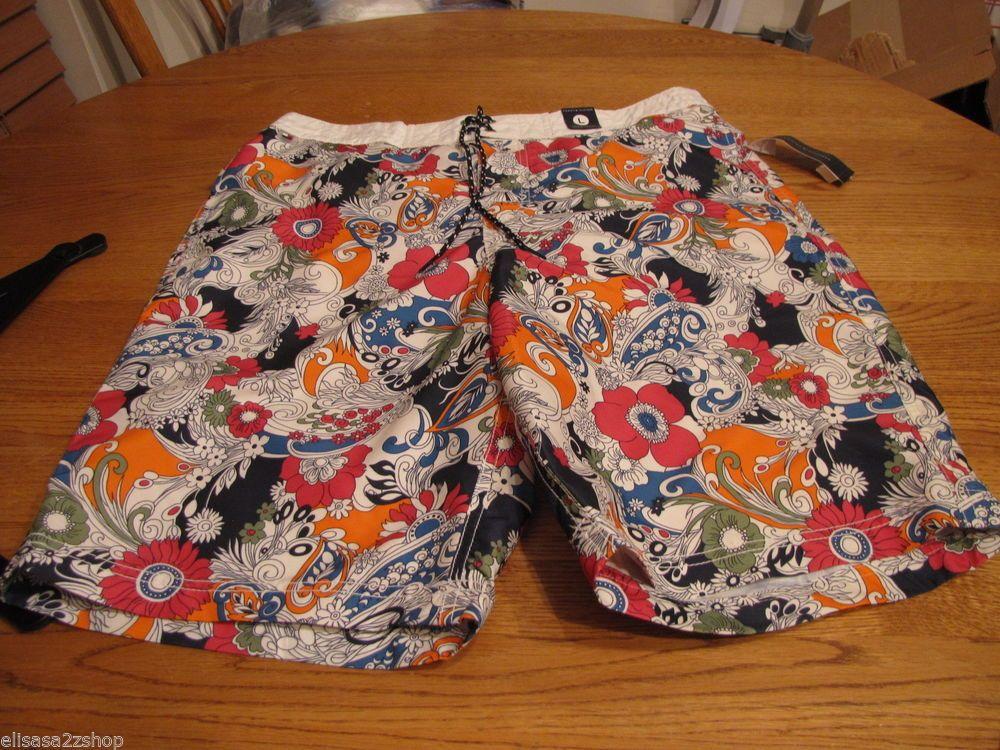Men's swim trunks shorts Tommy Hilfiger NEW XL logo $59.50 mesh inside 7812445 #TommyHilfiger #Trunks
