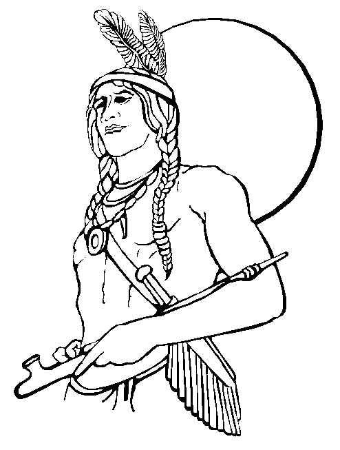 Native American - Free Printable Coloring and Activity Pages ...