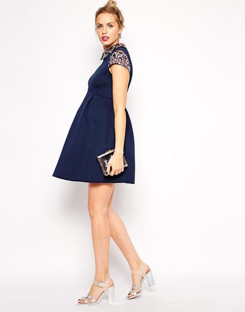 38795af29 Vestidos de embarazadas cortos para fiesta