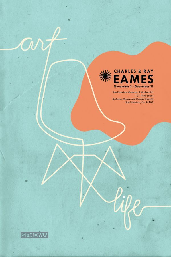 Eames Poster Series on Behance: