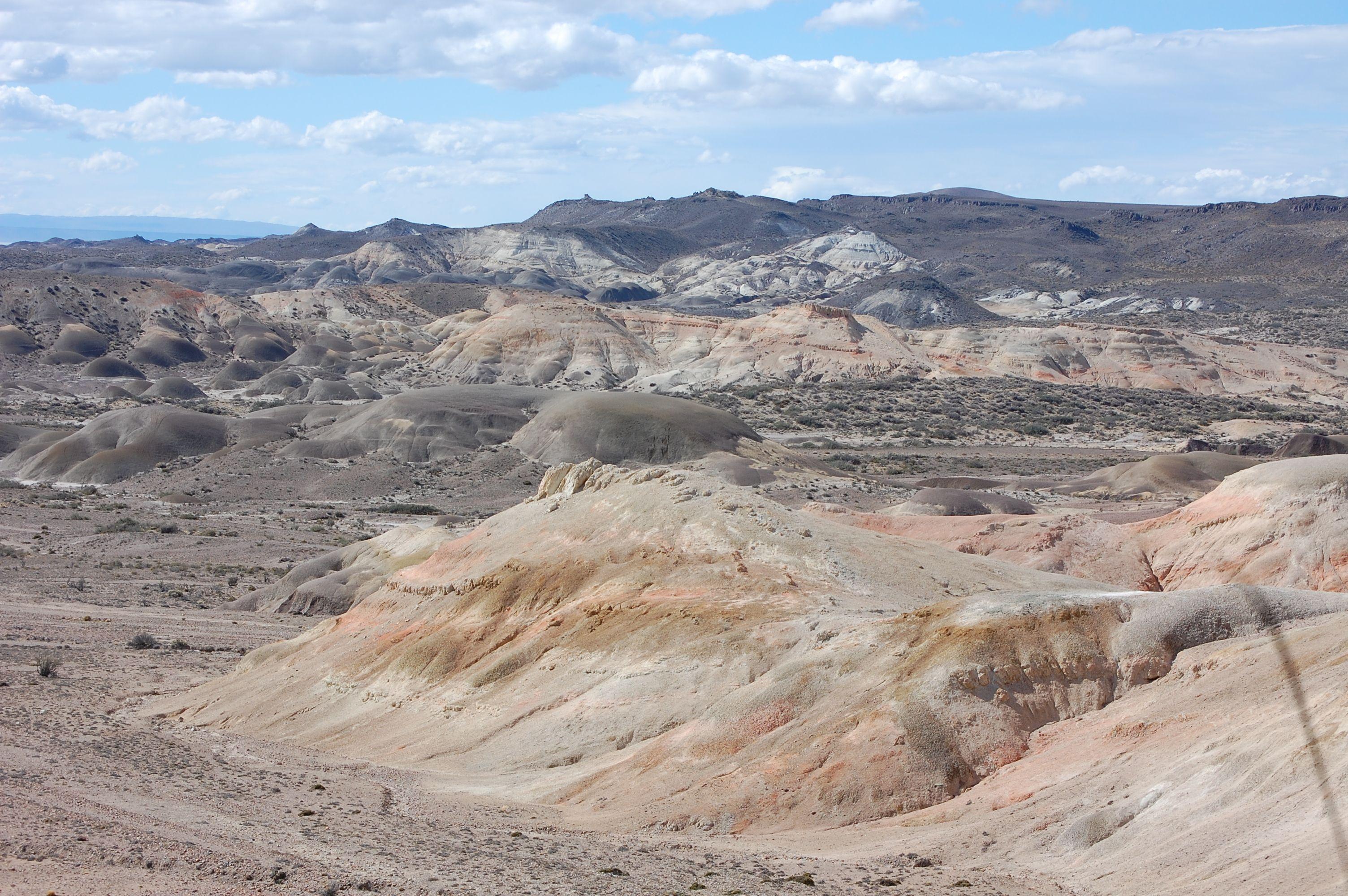 Valle de la luna - Ruta 26 - Argentina.