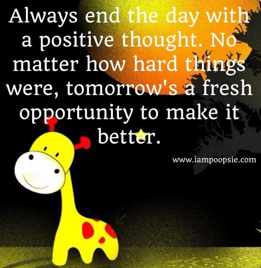 New Day Tomorrow Quote Via Wwwiampoopsiecom Funny Pic Quotes