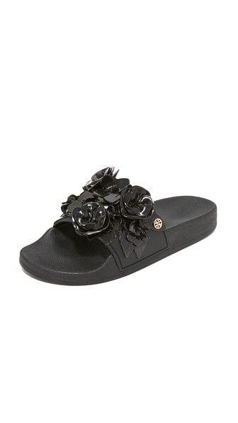 67312098e49d0 TORY BURCH Blossom Slides.  toryburch  shoes  slides