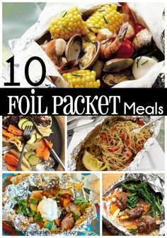 10 Easy Foil Packet Meals for the Family   Home.Made.Interest.