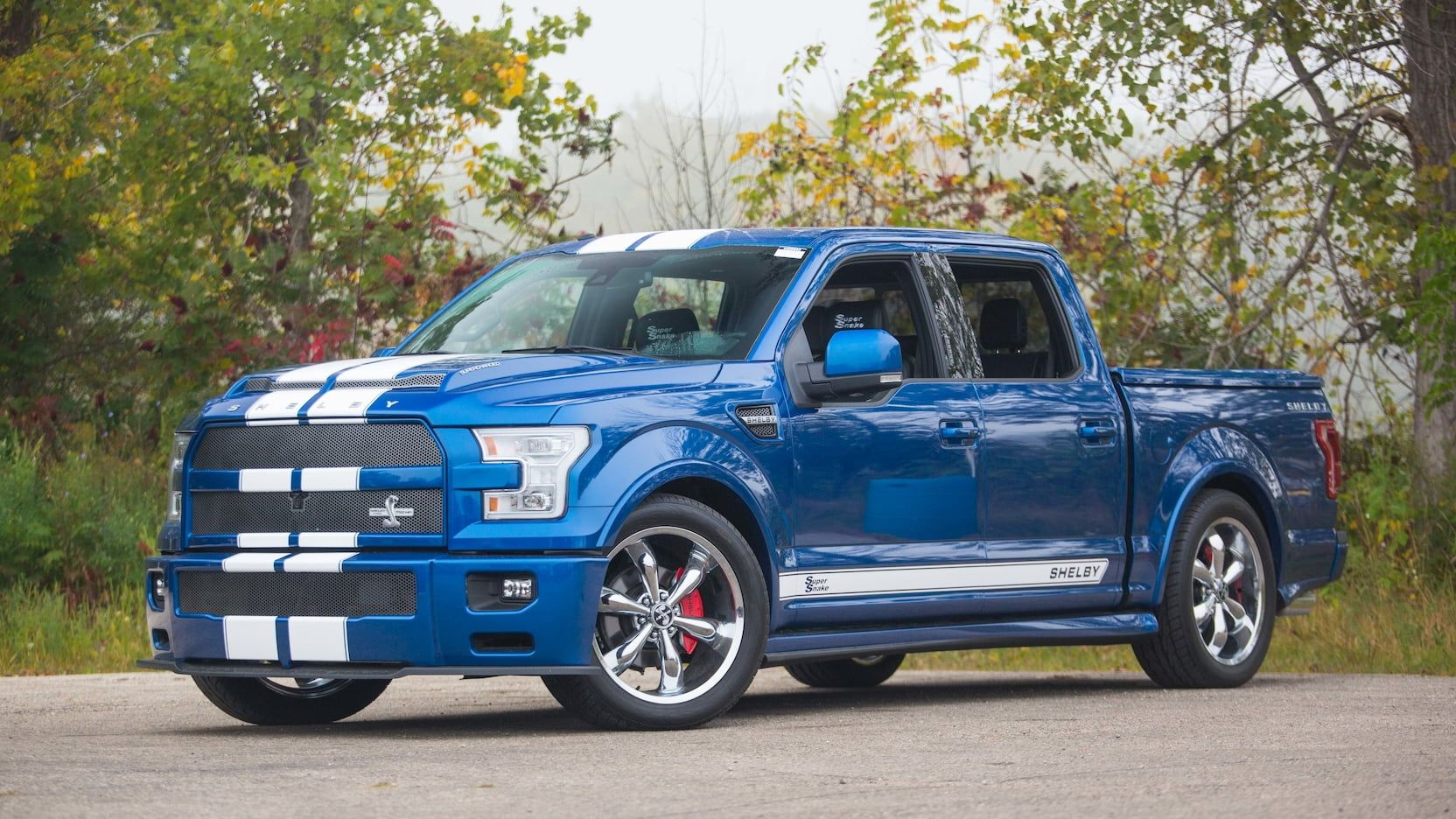 Ford Truck Shelby >> 2017 Ford F150 Shelby Super Snake Pickup Presented As Lot S97 At