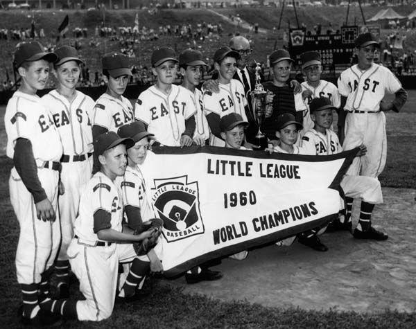 1960 World Champions Levittown Pa Little League Little League Baseball Levittown