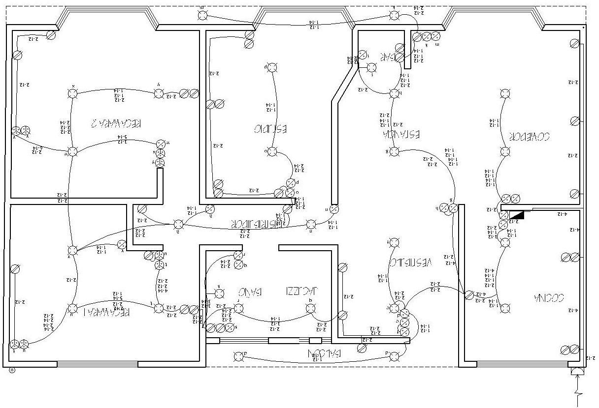 Realizacion De Un Plano Electrico Arqzon Plano Electrico Plano Instalacion Electrica Imagenes De Electricidad