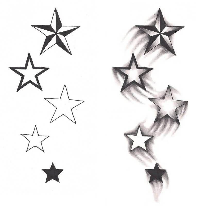 Tatuaż Gwiazdka W Sercu Szukaj W Google Tattoo Ideas