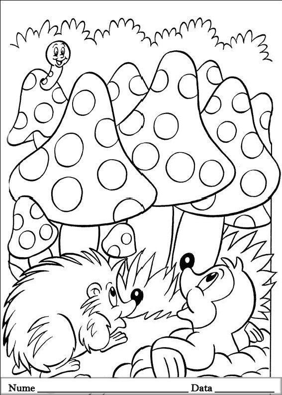 planse desene de colorat cu animale de pasti 15 | Coloring kids ...