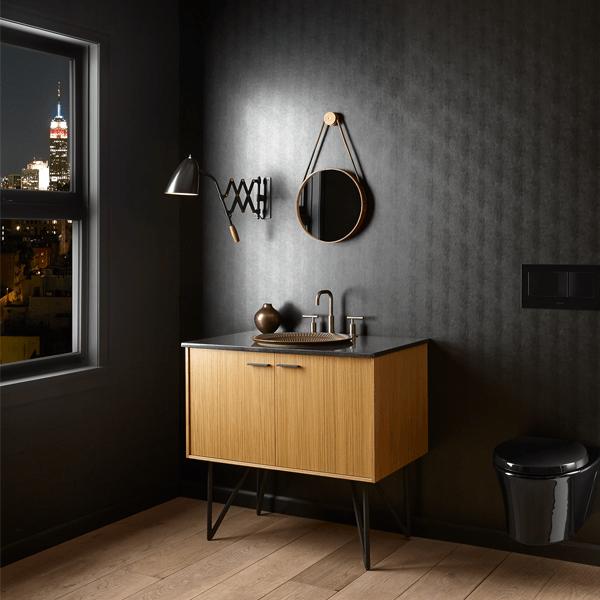 Kohler Jute Bathroom Vanity Combines The Warmth Of Wood With A