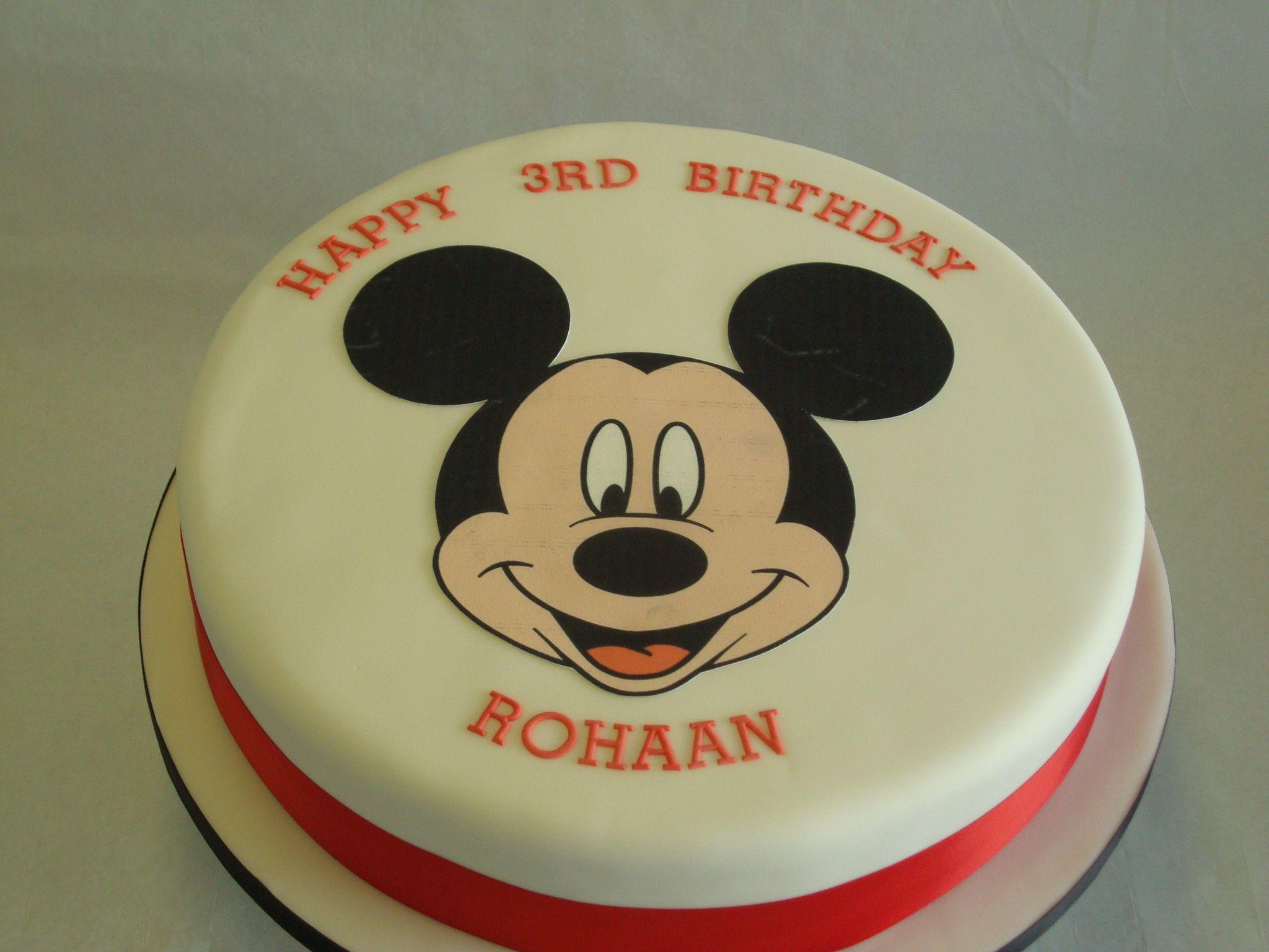 mickey mouse cake - Buscar con Google