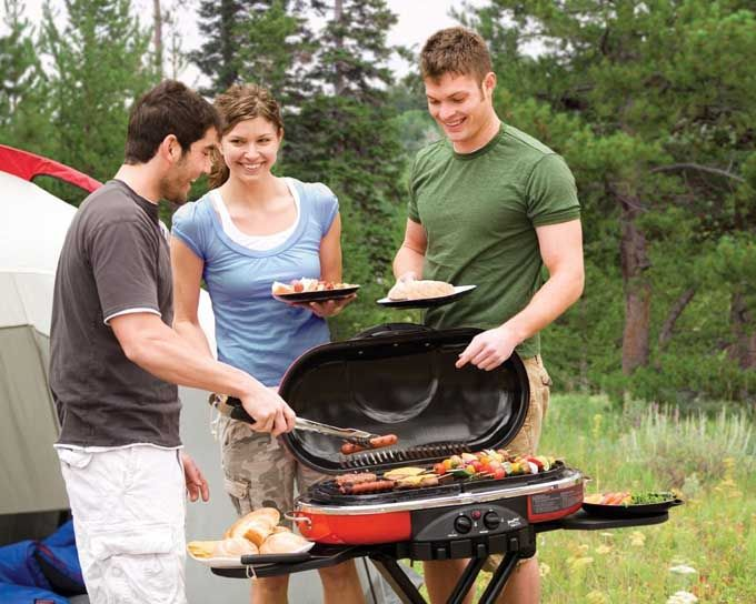 Portable Gas Bbq Grills Great Food On Location Portable Gas Bbq Propane Grill Camping Grill