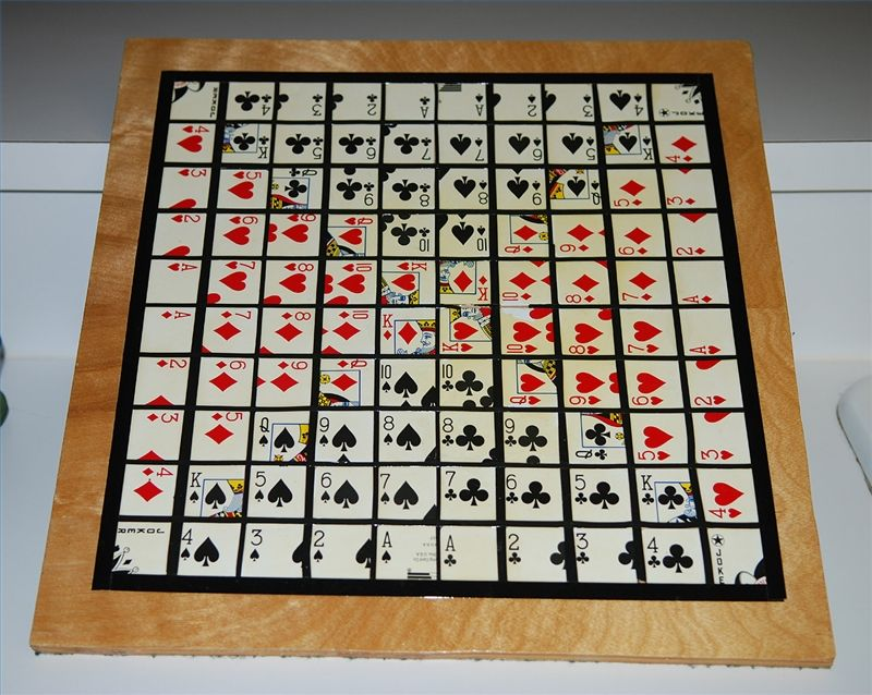 How to Make a Sequence Board Game Board games diy