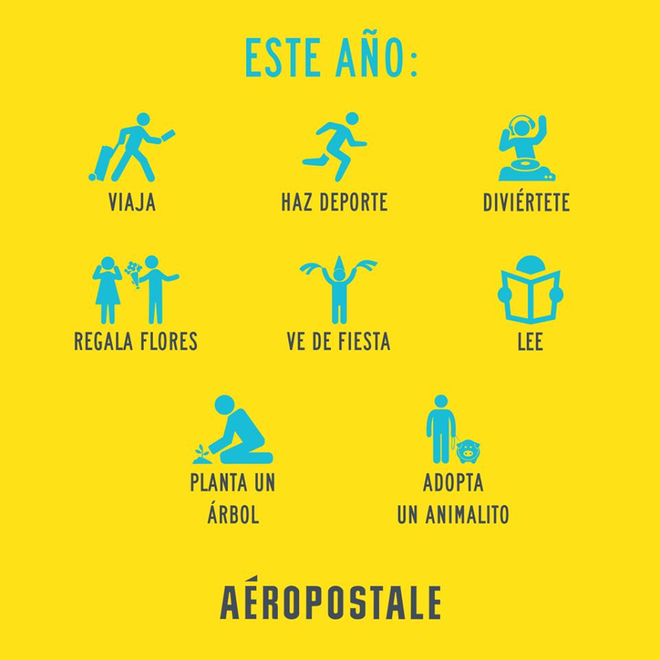 Este año... #AeropostaleMx #propositos #2016 #2015 #newyear