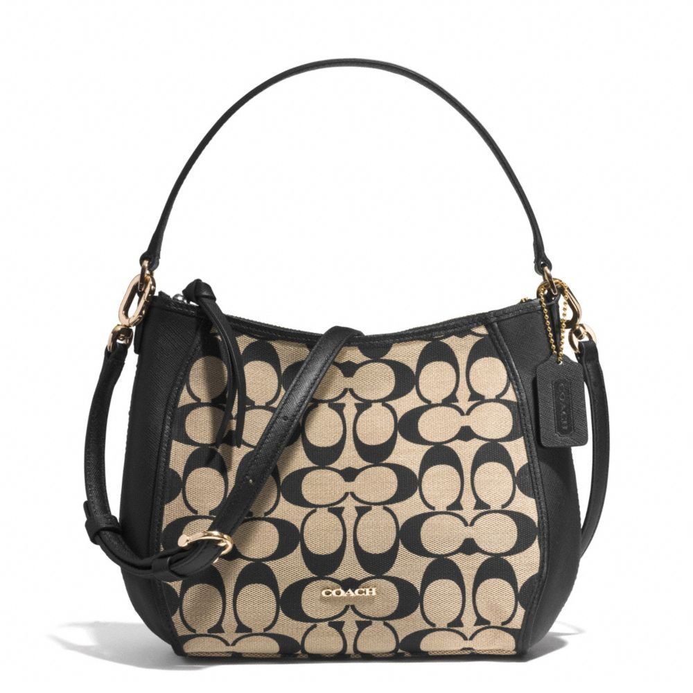 The Legacy Top Handle Bag In Printed Signature Fabric From Coach