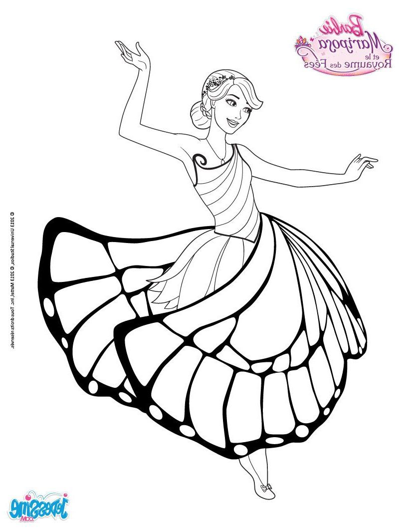 10 Nouveau De Barbie Coloriage Stock Barbie Coloring Pages Mermaid Coloring Pages Barbie Coloring