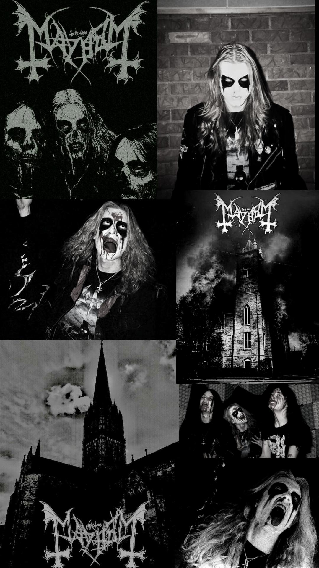 Rock Wallpaper S Black Metal Art Emo Wallpaper Mayhem Black Metal