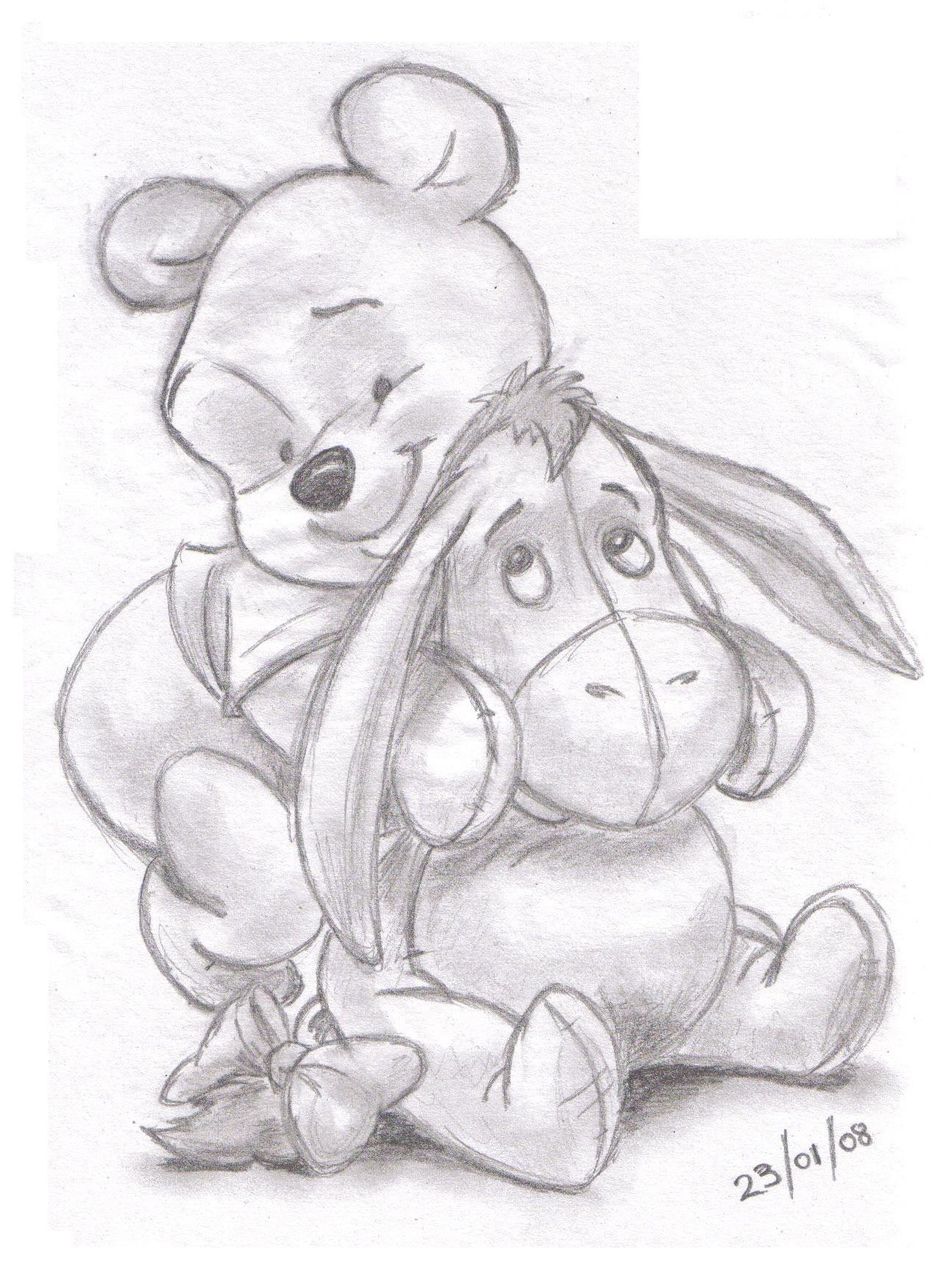 Winnie the pooh and eeyore | LandN83 | Foundmyself