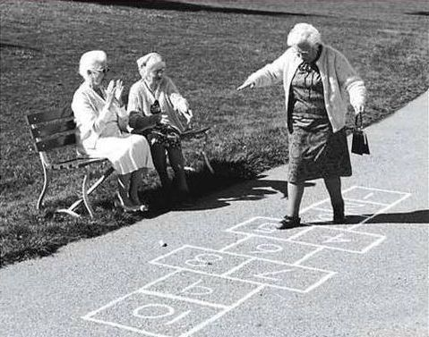 Older women playing with themselves