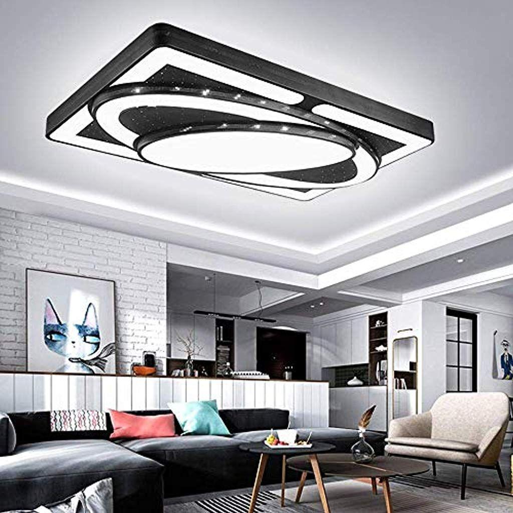 Jinpiker Deckenleuchte 90w Kaltweiss Raumschiff Led Panel Deckenlampe Wohnzimmer Schlafzimmer Energieeinspa In 2020 Deckenlampe Wohnzimmer Beleuchtung Beleuchtung Decke