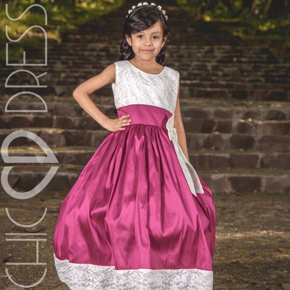 Modelo NF90-K VESTIDO de fiesta para niña, el vestido lleva un ...