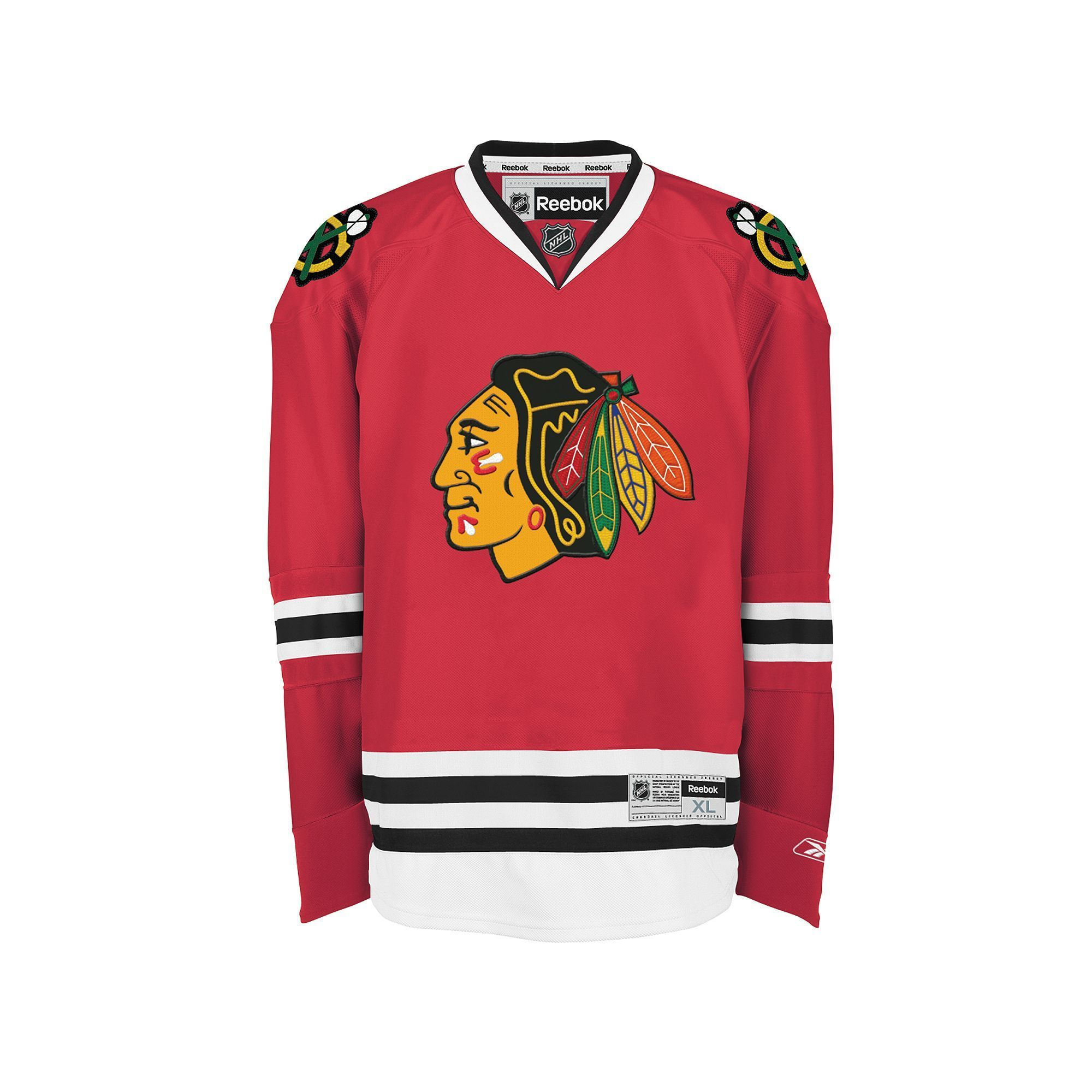 Men\'s Reebok Chicago Blackhawks Jersey, Size: Small, Red
