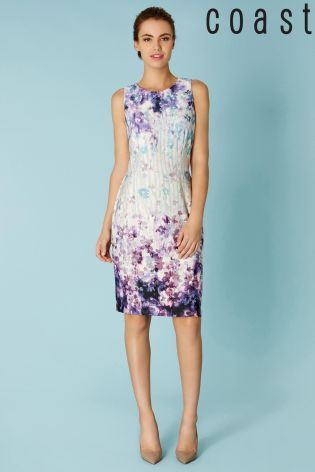 Coast Trudie Purple And Pink Floral Dress _ my favourite so far ...