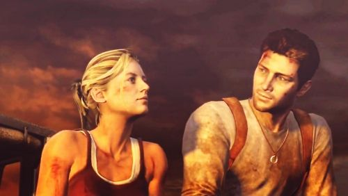 Nathan Drake Elena Fisher From Uncharted If Only You Knew What Would Happen In