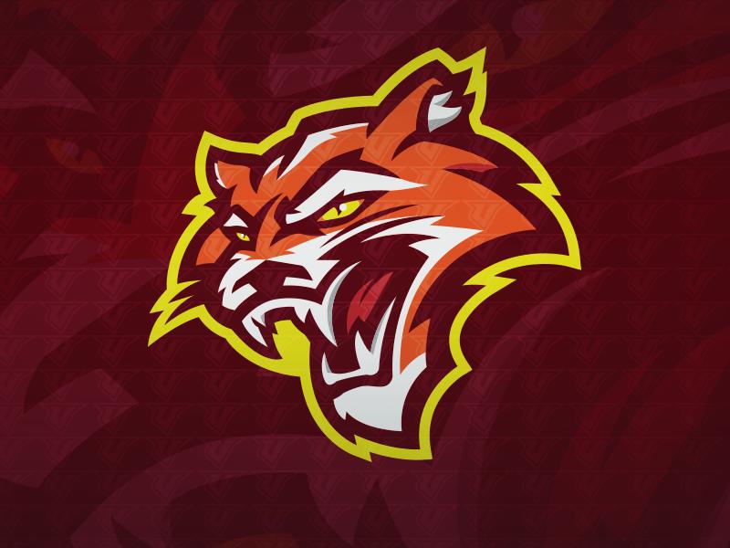 Mountain Lion Premade Logo Premade Logo Mascot Animal Logo