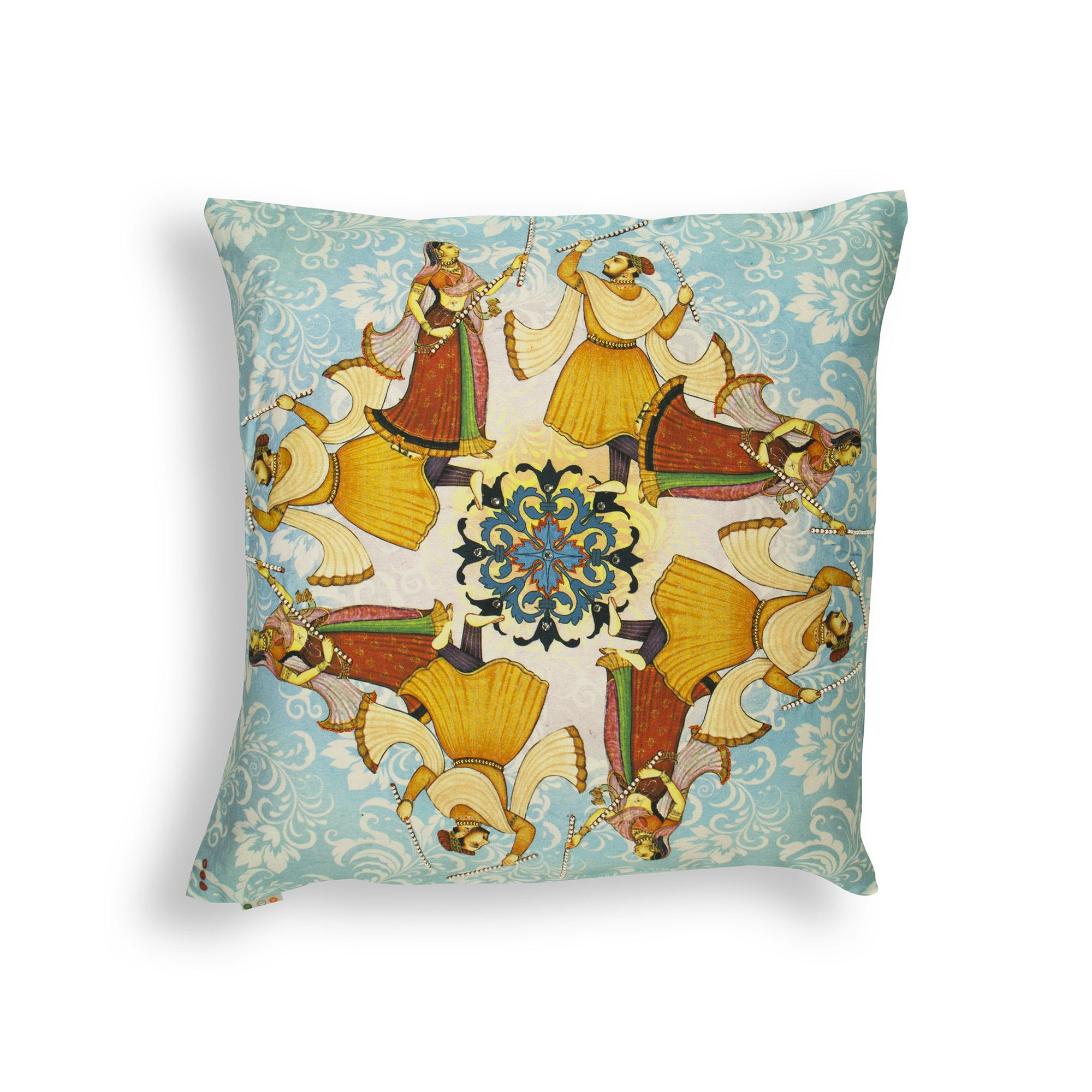 GARBA CUSHION COVER  Buy Here -http://madinindia.in/collections/cushion-covers/products/garba-cushion-cover MRP - Rs 1200