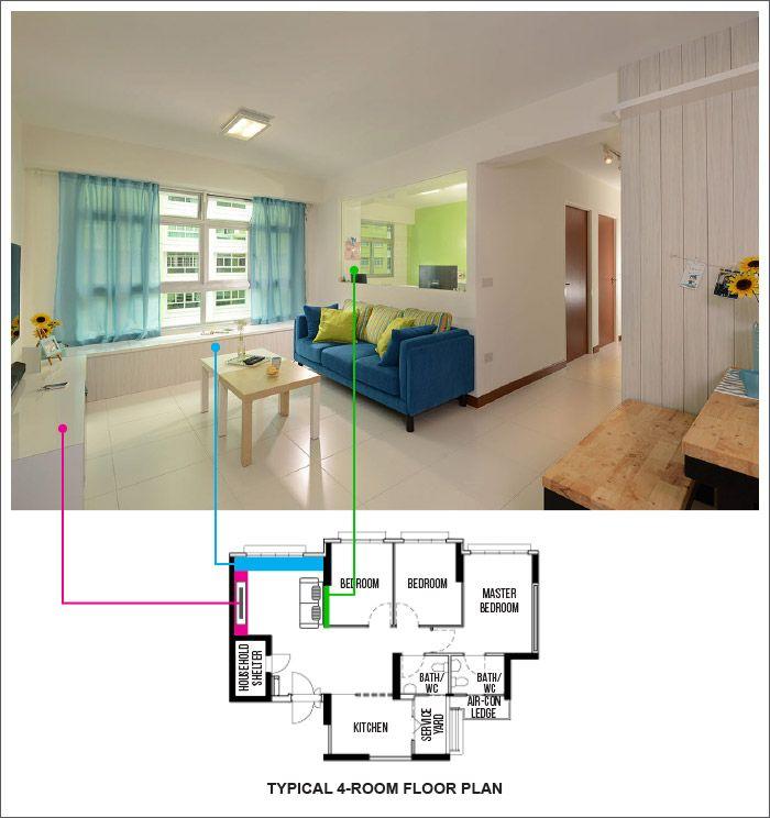 Hdb Home Design Ideas: 15 Practical Layout Designs For Punggol Matilda Court