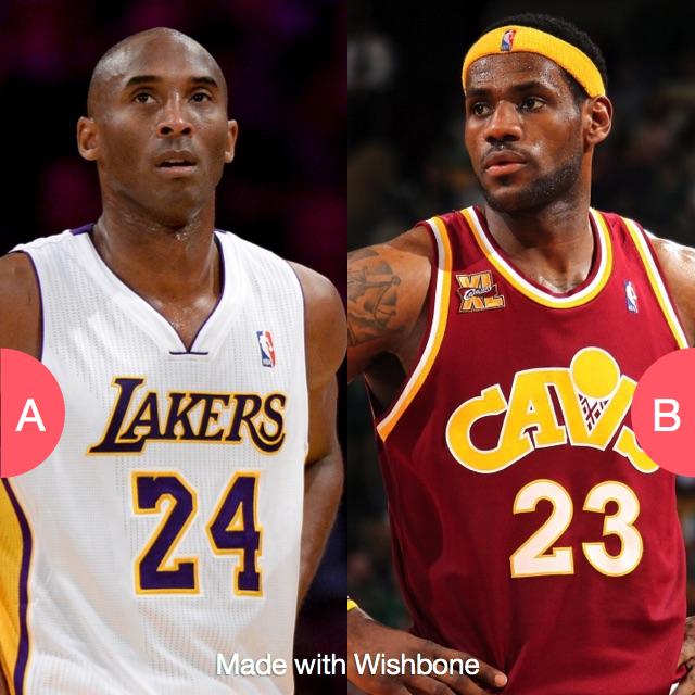 Kobe or Lebron? Make yours @ http://bit.ly/getwishbone