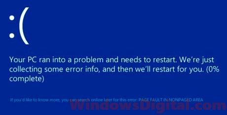 windows stop code whea_uncorrectable_error