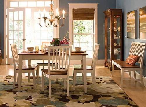 This Familyfriendly Ashby 6Pcdining Set Combines Some Of The Inspiration Raymour And Flanigan Dining Room Set Inspiration Design