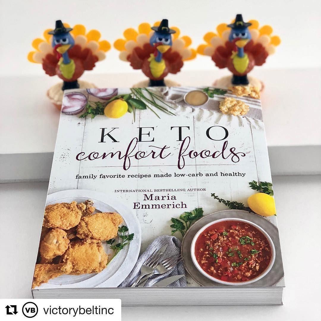 keto comfort foods book