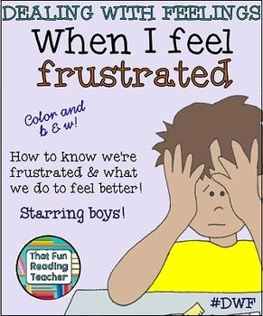 When I Feel Frustrated -a Dealing With Feelings storybook ...