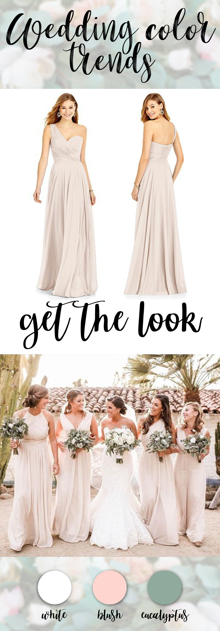 After Six Bridesmaids Style 6751 | Blush weddings, Weddings and ...